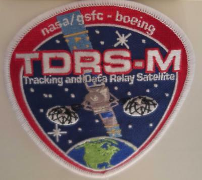 TDRS-M TRACKING and DATA RELAY SATELLITE VEHICLE MISSION PATCH DESIGN