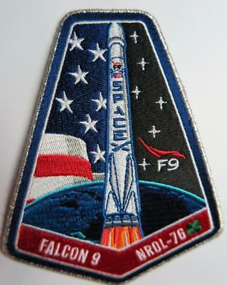 Falcon 9 Nrol-76 Space Mission Patch F9 L-76 Original
