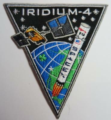 Original Falcon 9 Iridium 4 (Iv) Next Space Mission Patch