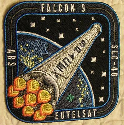 Falcon 9 Abs Eutelsat Vehicle Space Mission Patch