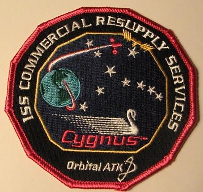 Cygnus Orbital Atk Iss Commercial Resupply Services Space Mission Patch