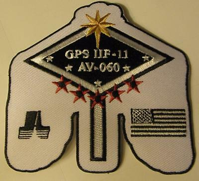 Atlas V Gps Iif-11 Usaf Global Positioning Booster Vehicle Patch Space
