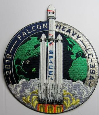 Falcon Heavy Demo Original Space Mission Patch Spacex Has Released More