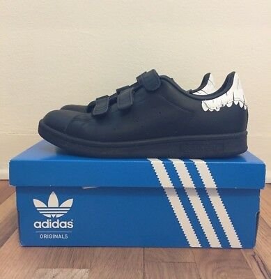7f7eb44ca5b9 LIMITED EDITION adidas Stan Smith CF Black Leather Classic Women Shoes  Sneakers