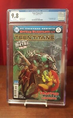 Teen Titans #12 CGC 9.8 1st Appearance of Batman Who Laughs