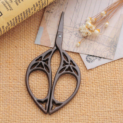 E46F Retro Vintage Classical Stainless Steel Cross Stitch Embroidery Scissors