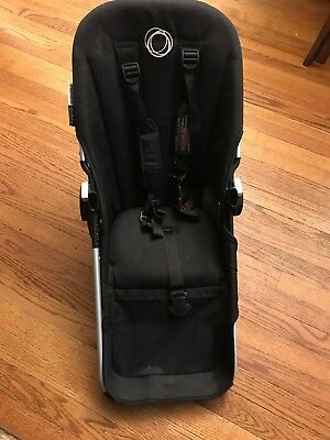 Bugaboo Donkey Toddler Seat In Black Fabric And Frame