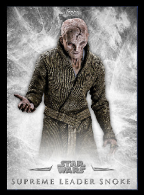 Topps Star Wars Card Trader The Last Jedi Inception Wave 1 Snoke