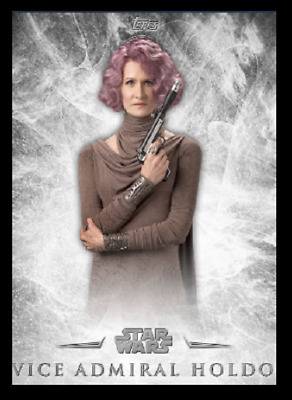 Topps Star Wars Card Trader The Last Jedi Inception Wave 1 Vice Holdo