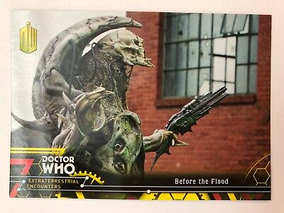 2016 Doctor Who Extraterrestrial Encounters #95 Before the Flood YELLOW NM-Mint