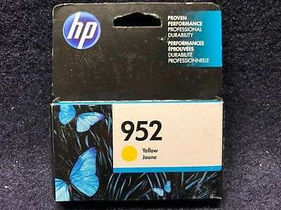 Genuine HP 952 Ink Cartridge, Yellow (L0S55AN) Exp: 05/2018 w/ Same Day Shipping