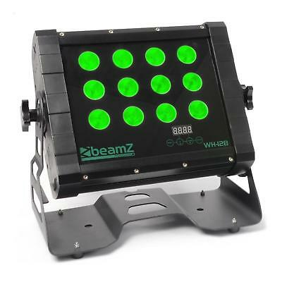 beamZ WH128 Wall Washer 12 x 8 W Quad LED IP65 DMX