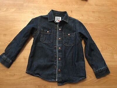 Next Boys Denim Shirt Aged 4-5