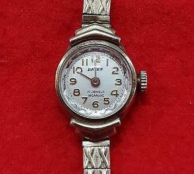 Datex Gold Plated ? Ladies Watch 17 Jewels Incabloc Working