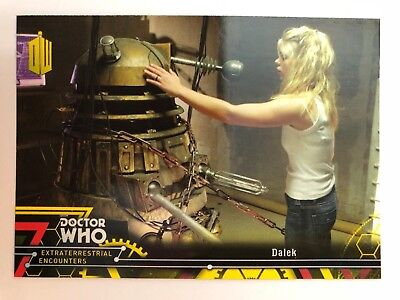 2016 Doctor Who Extraterrestrial Encounters #72 Dalek YELLOW NrMint-Mint