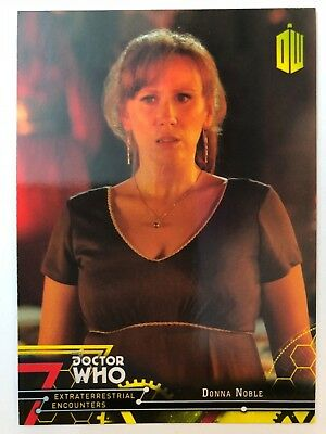 2016 Doctor Who Extraterrestrial Encounters #21 Donna YELLOW NrMint-Mint