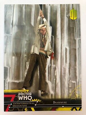 2016 Doctor Who Extraterrestrial Encounters #67 Dragonfire YELLOW NrMint-Mint