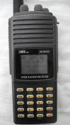 AOR AR 8000 1000 Channel All Mode Scanner with manual