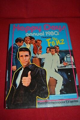 Vintage Book - Happy Days Annual 1980 featuring The Fonz