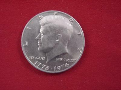 USA Half Dollar / John F Kennedy Bi-centennial issue / one coin / 1776-1976