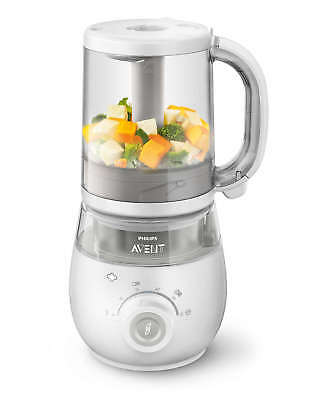 Philips Avent Combined Steamer and Blender 4 in 1 Healthy Baby Food Maker