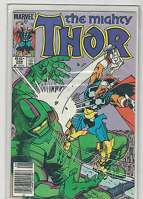 The Mighty Thor #358 Marvel comics VF/NM