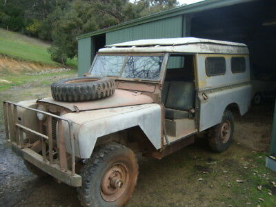 1964 Land Rover Series 2A FFT Ex Army  ARN 113-652