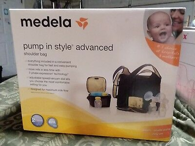 New Medela Pump in Style Advanced Breastpump with Professional Shoulder Bag!