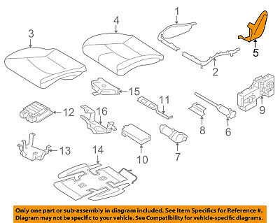 PORSCHE OEM 05-12 Boxster Front Seat-Cushion Bottom Cover Right 99752131602D07
