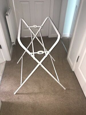 SET: Mothercare Folding Baby Bath Stand, used twice, comes in original box.