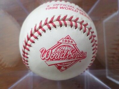 1994 Major League Baseball By Rawlings For The Cancelled 1994 World Series In Ba