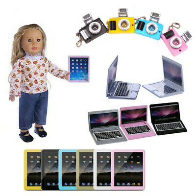 "Fits 18"" American Girl Doll Our Generation My Life Doll Accessories iPad UK HOT"