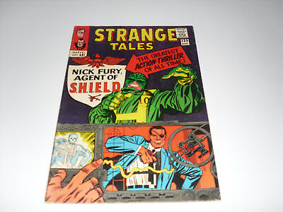 Strange Tales 135  : FN : Origin + 1st Appearence of Nick Fury Agent of SHIELD