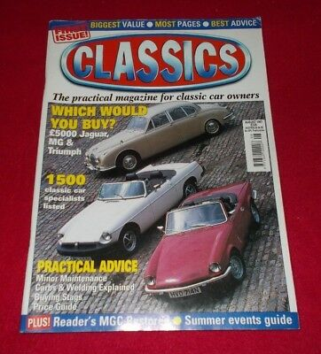 Classics The Practical Magazine For Classic Car Owners August 1997