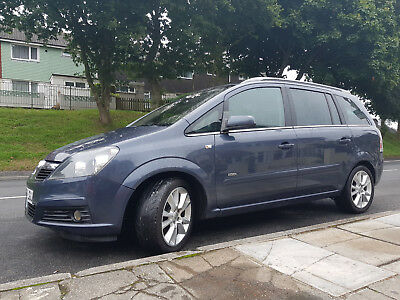 Vauxhall Zafira 1.9 Cdti , Manual 6 Speed , Diesel, Very Good Driving Condition