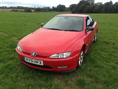 Peugeot 406 Coupe 2001 Red Black Leather Recent Cambelt Owned Since