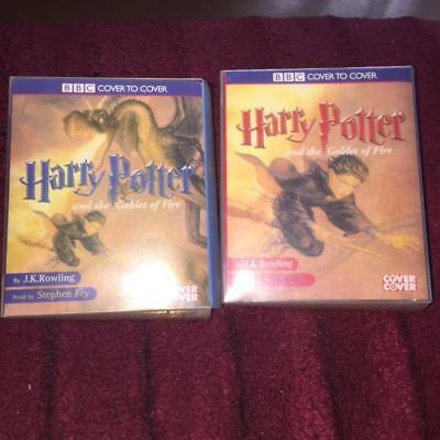 harry potter and the goblet of fire  complete 14 CASSETTE AUDIOBOOK j k rowling