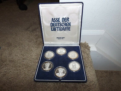 WWII Luftwaffe Aces  999 Silver Proof Coins