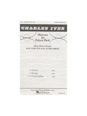 Charles Ives Charlie Rutlage Learn to Play Unison Voice Piano SHEET MUSIC BOOK