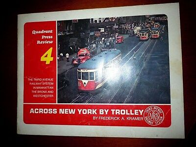 Across New-York by trolley  Third Avenue street cars lines tramways
