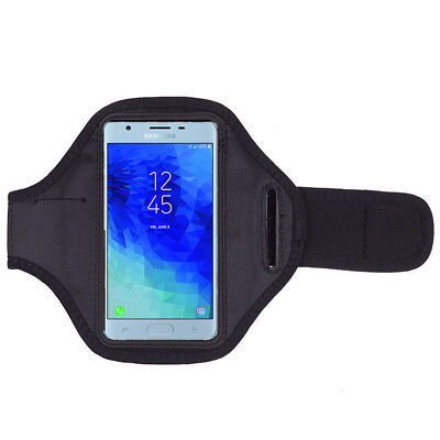 For Samsung Galaxy J3 J5 J7 2018 2017 Sports Armband Gym Running Workout Case