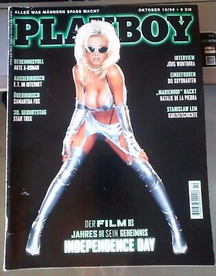 Samantha Fox - Playboy Magazine