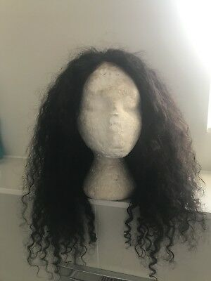 Pre-Plucked 360 Frontal Lace Wig Deep Wave Indian Remy Hair RPG Hair Wig 18inch