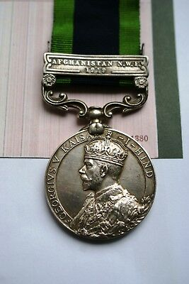 India General Service Medal George V With Clasp Afghanistan 1919 S. Lancashire R