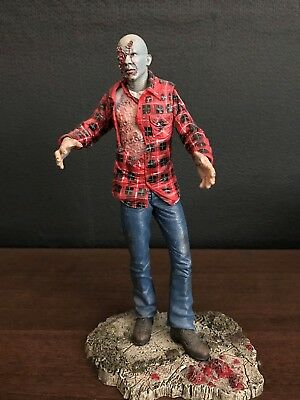 Dawn of the dead Zombie NECA Cult Classics Series 4 Action Figure Plaid Zombie