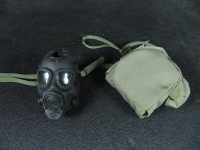 1/6 Damtoys Gas Mag Bag M17A1 Gas Mask SEAL CQB VBSS Soldier Story Easy Simple
