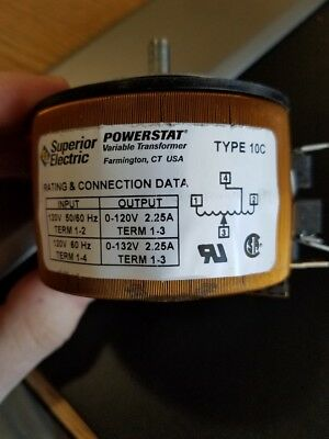 PowerStat Variable Transformers 10c
