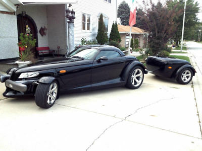 1999 Plymouth Prowler  1999 Plymouth Prowler with Trailer and Hardtop