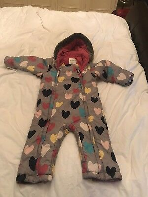 Marks And Spender Snowsuit Girls Age 2-3