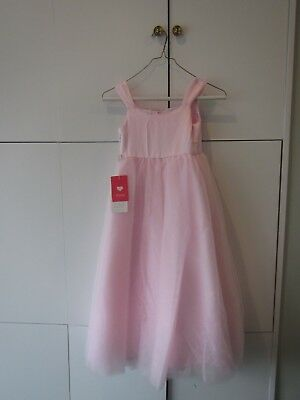 JJS HOUSE Ball Gown Ankle-length Flower Girl Dress - Satin/Tulle Square Neck Sz5